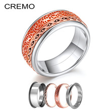 Cremo Various Combination Rings-MISS Arctic Symphony Ring Stainless Steel Collection Mix & Match Rings Interchangeable Jewelry