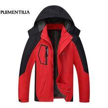 Pui для мужчин tiua Autum водостойкие Лоскутные повседневный мужской жакет пальто для будущих мам мужская верхняя одежда плюс размеры мужские ветровки chaqueta hombre