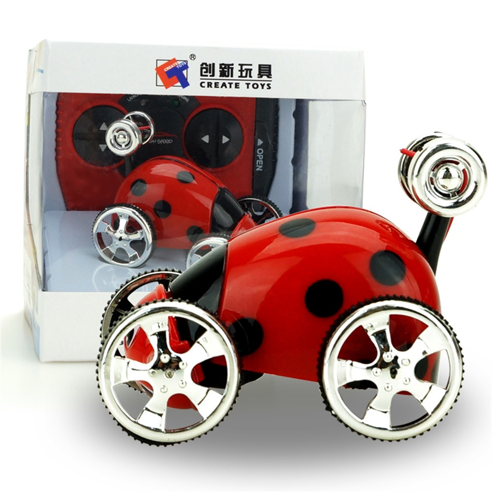 Mini 360Rotation RC Radio Remote Control Racing Stunt Flip Car Toy Kids 17Nov07