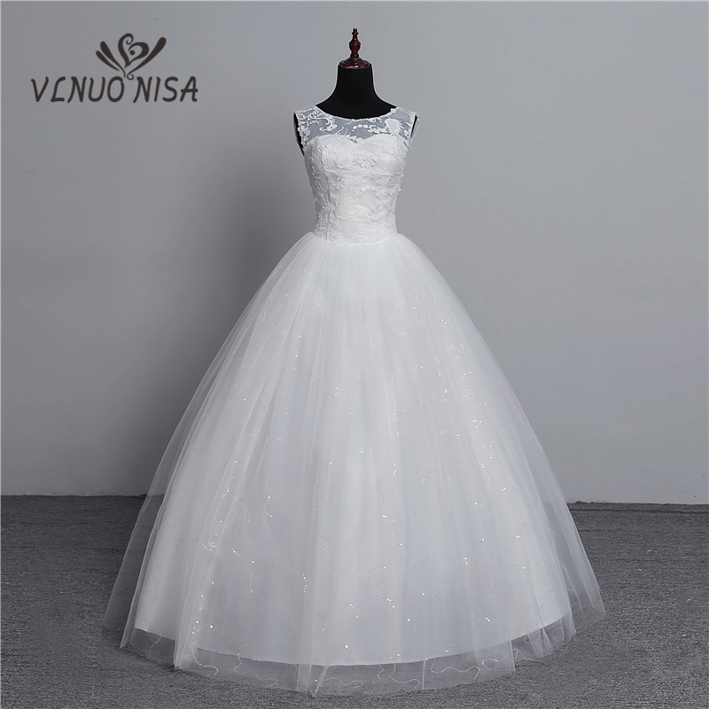 100% Real Photo Korean Lace Up Ball Gown 2018 Fashion Classic Wedding Dresses Customized Plus Size Bridal Dress With 3D Flowers