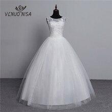 100% Real Photo Koreanische Spitze Up Ballkleid 2020 Mode Klassische Hochzeit Kleider Angepasst Plus Größe Braut Kleid mit 3D blumen