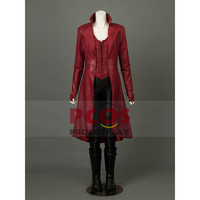 Капитан Америка 3: Civil Wanda Maximoff Алая ведьма косплей костюм mp003262