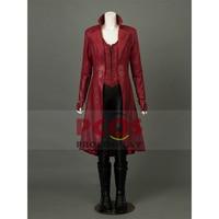 Captain America 3 : Civil War Wanda Maximoff Scarlet Witch Cosplay Costume mp003262