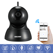 hot deal buy home surveillance security wifi camera 1mp hd-720p ir night vision two way audio ptz p2p onvif wireless network video ip camera