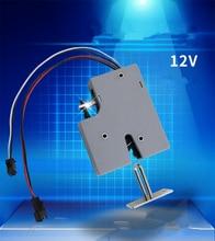 3,3 В, 5 В или 12 В постоянного тока, миниатюрный Электрический Болтовой замок для шкафа, фотомагнитный дверной замок (5 шт. в упаковке)