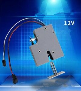 Image 1 - 3,3 V 5 V oder 12VDC Mini Elektrische Bolzen Lock für Schrank Kleinen Schrank Lock/Magnet Türschloss (5 stücke pro packung)