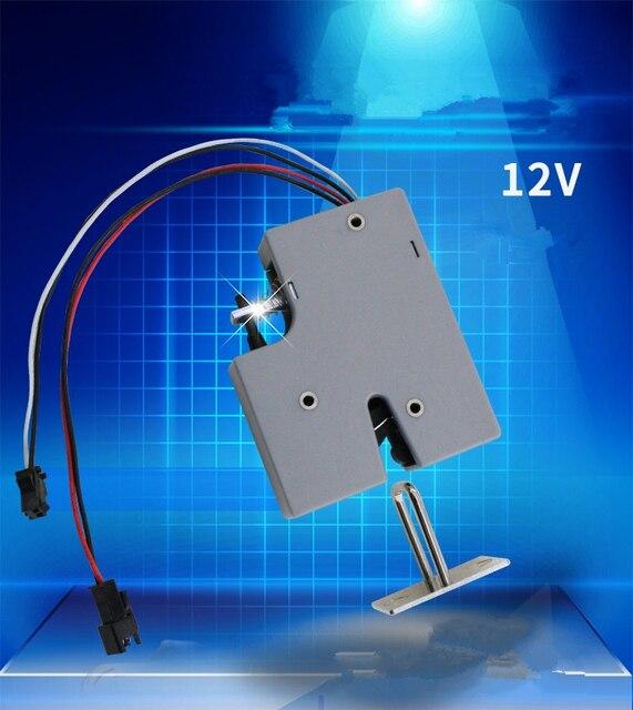 3,3 V 5 V oder 12VDC Mini Elektrische Bolzen Lock für Schrank Kleinen Schrank Lock/Magnet Türschloss (5 stücke pro packung)