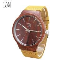 Newest Men Women Business Watches Fashion Casual Watches Quartz Clock Wooden Print Watches Women Wristwatches Wholesale