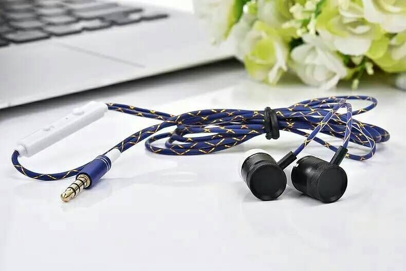 JKR-301 new wired earphones in-ear earbuds stereo headset noise isolation with mic control talk,free post, Christmas gift