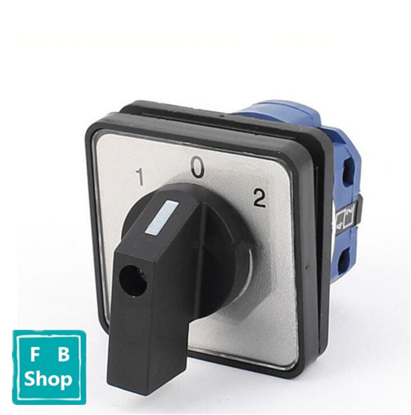 High Quality 660V 20A Electric 3 Position Rotary Cam Switch Changeover Switch three position selector rotary switch power ignition lay7 20x 3 s018y high quality