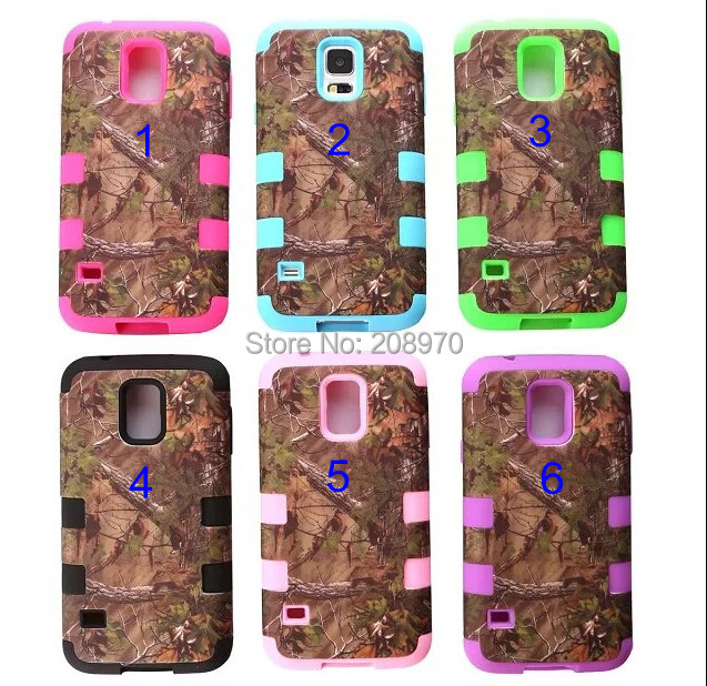 brand new 4393c 51bfd US $145.5 |Real Tree Camo Cases Serie For Samsung Galaxy S5 Waterproof Cell  Phone Case Hybrid Silicone Skin With Plastic Shell on Aliexpress.com | ...