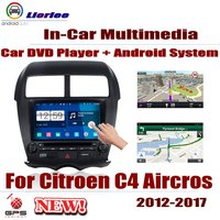 Car DVD Player For Citroen C4 Aircross 2012~2017 IPS LCD Screen GPS Navigation Android System Radio Audio Video Stereo
