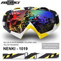 Profesional Gafas De Motocross Motocicleta Moto Ciclismo Gafas Gafas Máscara de Paintball NK1019-R