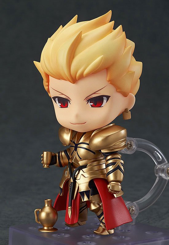 Fate/stay night Nendoroid Gilgamesh 410 Action Figures PVC 10cm brinquedos Collection Figures toys for christmas gift Retail box 1