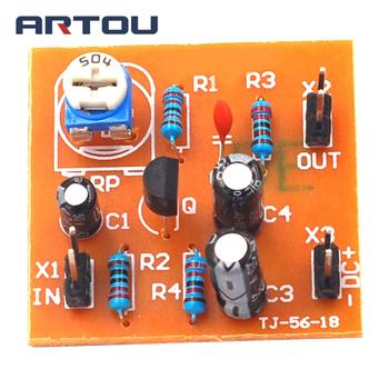DIY Kit DC12V Typical Division Voltage Bias Single Tube Low Frequency Amplifier Circuit Board DIY image