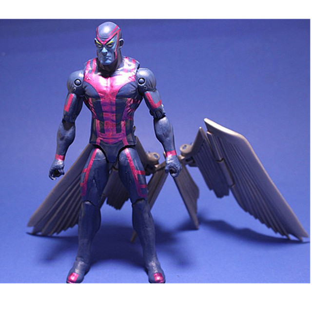 Action toys X man Apocalypse MOVIE Action Figure Magneto X-Men En Sabah Nur Collectible  Movable Birthday Gift 16cm
