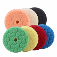 6inch 150mm Mix Color Light Cut Heavy Cut And Finish Buffing Polishing Pads