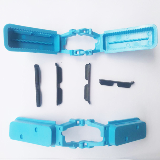 40 PCS Dental Lab Products Blue Color Articulator Plastic Disposable Articulator