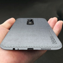 1 Pcs Anti-knock Soft TPU Matte Silicon Cloth Mobile Business Phone Cas