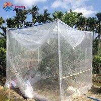 Tewango Fruit Tree Plant Cover Blueberry Crops Vegetable 40MESH Nylon Insect Pest Control Anti Bird Net Garden Protect Mesh