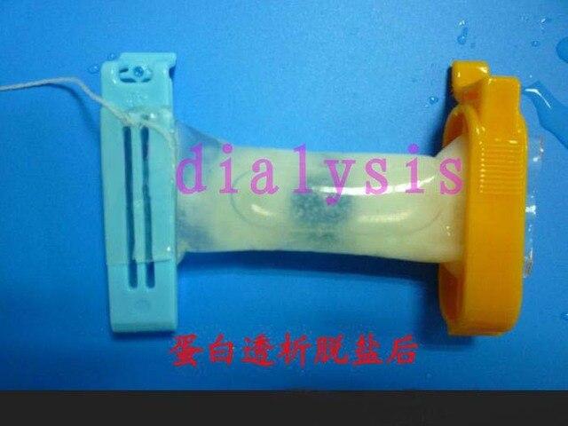 Dialysis Tubing Mwco 14kd Md21mm 5m Roll 2pcs Bag Clip Made