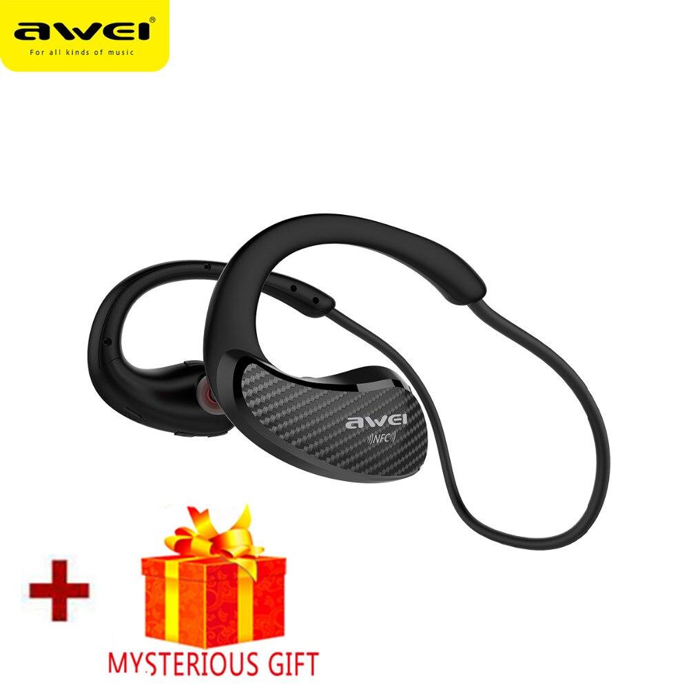Awei Sport In Ear Bud Wireless Headphone Bluetooth Earphone Headset For Phone In-Ear Earbud Blutooth Handsfree Earpiece Ecouteur
