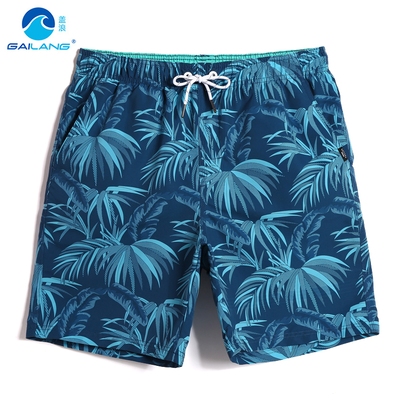 Bathing suit Men's summer quick dry swimming trunks swimsuit camouflage hawaiian   board     shorts   plus size liner briefs