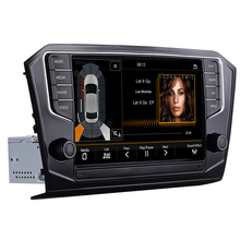 """Autoradio sistema di navigazione per auto multimedia video android dvd dell'automobile per il VW PASSAT B8 2015-2018 9 """"2 g/32g di tocco Dell'automobile dello schermo di Radio"""