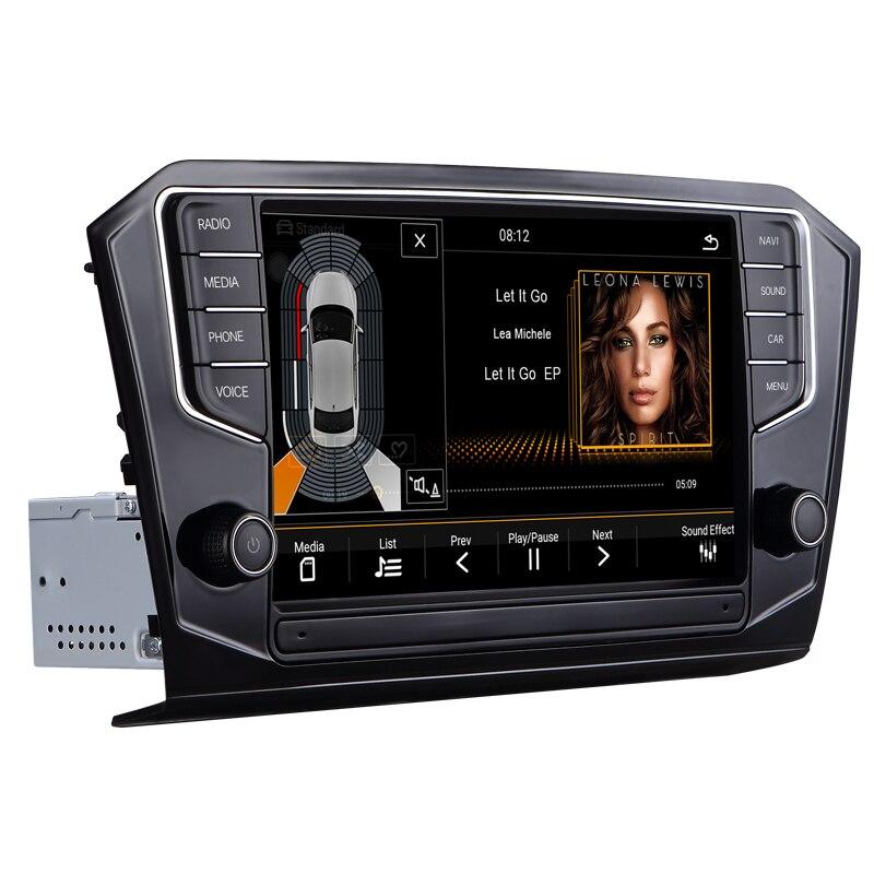 Autoradio sistema di navigazione per auto multimedia video android dvd dell'automobile per il VW PASSAT B8 2015-2018 9