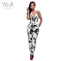 Yilia 2016 New Elegant Summer Work Dress Casual Patchwork Midi Black Mini Pencil Bandage Bodycon Office