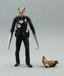 """Image 5 - (Geen Doos) gratis Verzending Neca The Terminator 2 Action Figure T800 Cyberdyne Showdown Pvc Figuur Toy 7 """"18Cm MVFG132"""