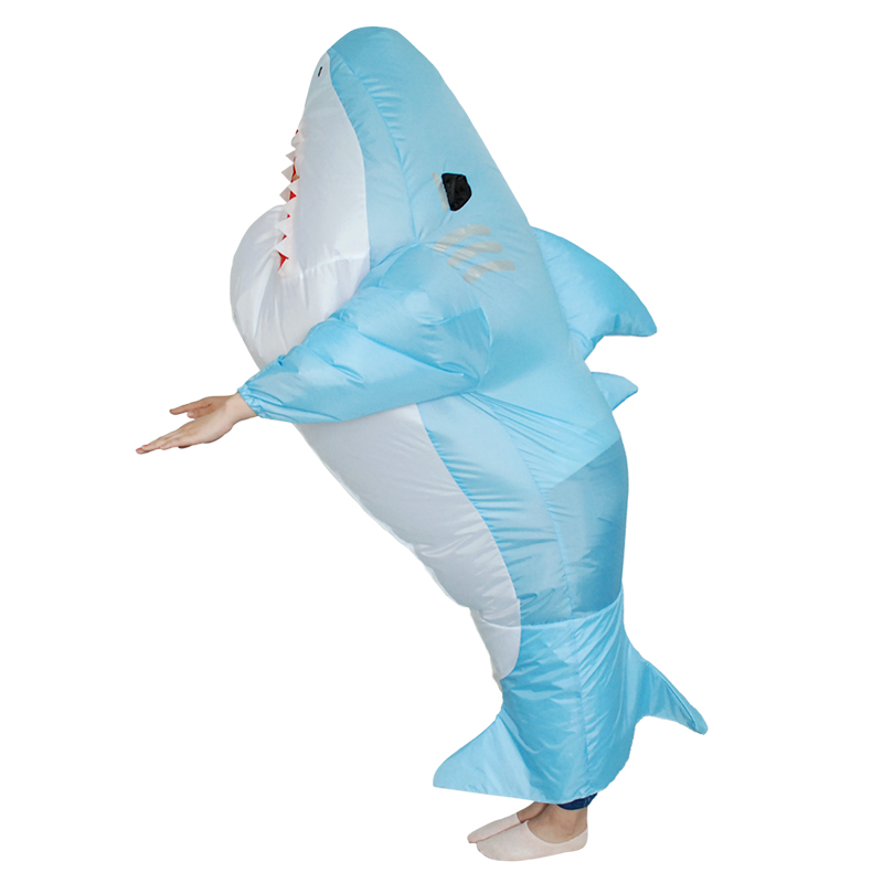 Animal love live cosplay Halloween Cosplay Carnaval Inflatable Great white shark costume Party Costumes for women men
