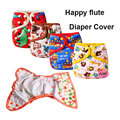 Happy Flute Cover Diaper Leakproof Reusable Diapers for Newborn AIO Baby Cloth Diaper Cover Waterproof Cloth Nappies Pocket
