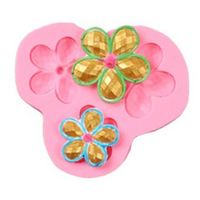 Flower Silicone Mold Fondant sugarcraft Cake Candy Pastry Baking Tool Mould cake decorating tools baking supply italian onion diy silicone mold fondant cake sugarcraft baking decorating cake dessert fondant cupcake tool kitchen accessories