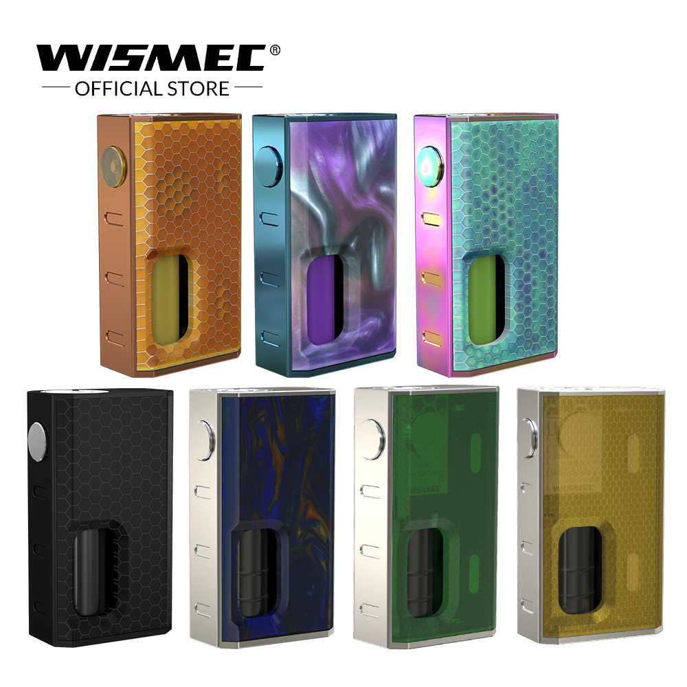Original Wismec LUXOTIC BF Box Mod 100W Mechanical Mod built-in 7.5ml squonk bottle Vape box mod Electronic Cigarette