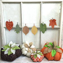 Handmade Assorted Autumn Decor Leaves