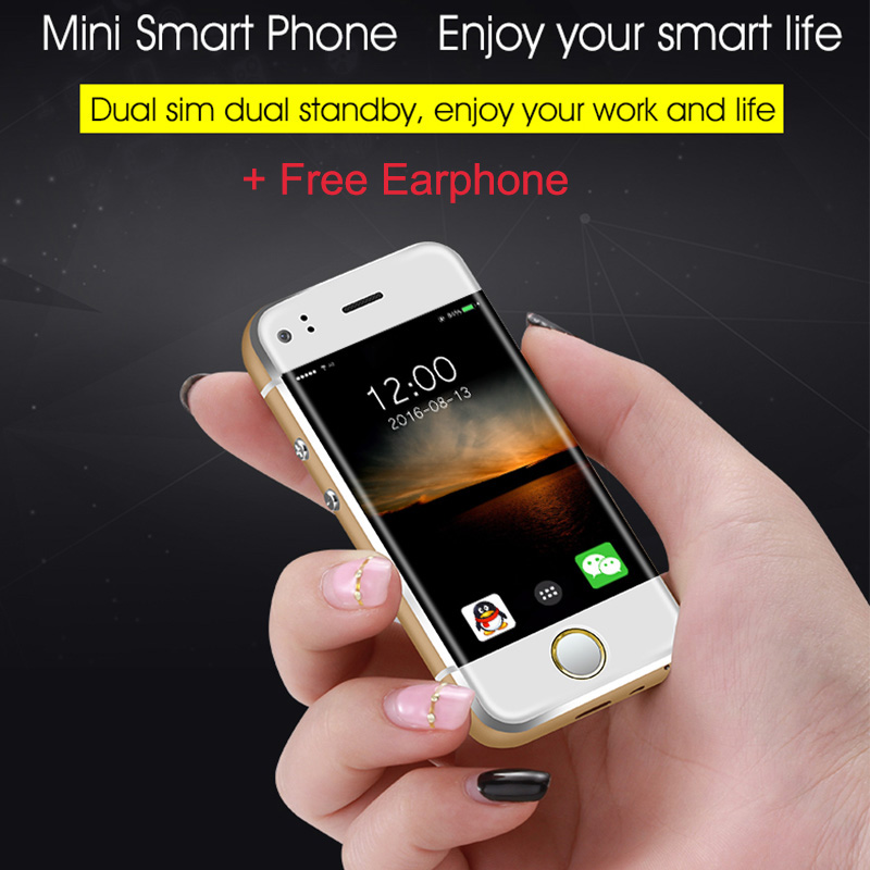 Small Mini Student Android Smart Slim Mobile Phone MTK6572 Dual Core 2.0MP Dual SIM Dual Standby Unlocked Pocket For Lady P117