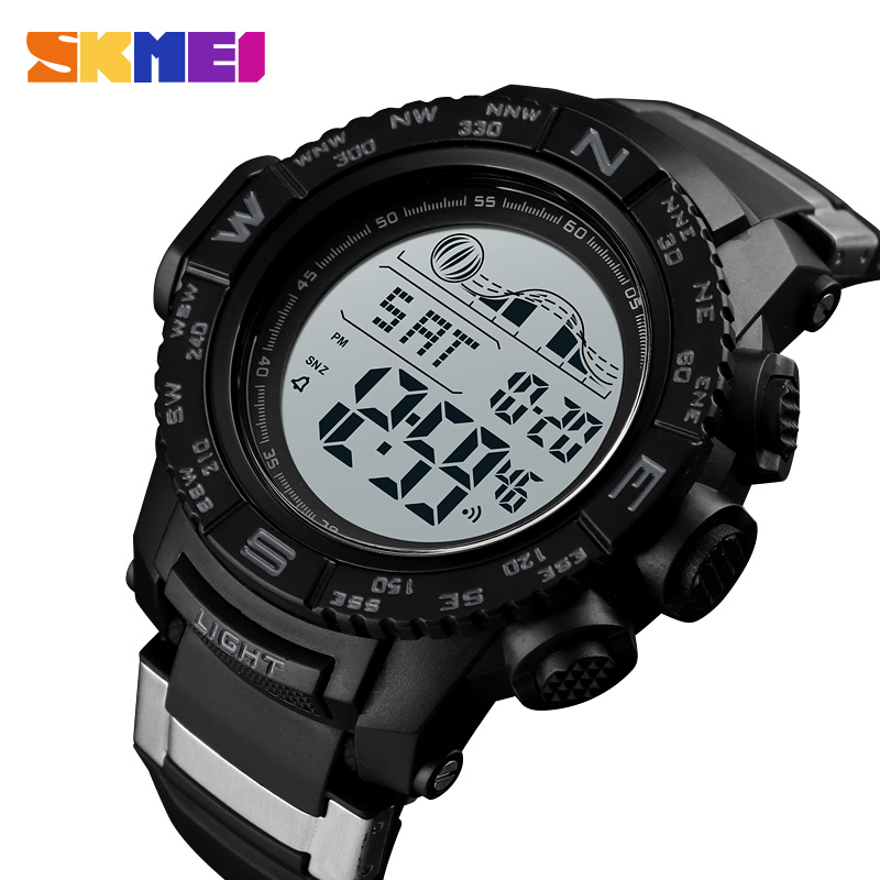 SKMEI Men Watch Fashion Electronic Sports Watches Waterproof Mens Watches Top Brand Luxury Military Digital Wrist Watch Men