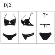 Hot Sale Strappy Bandage Bikini Sets Push Up Bra Swimsuit Bathing Suit Brazilian Biquini Bikini