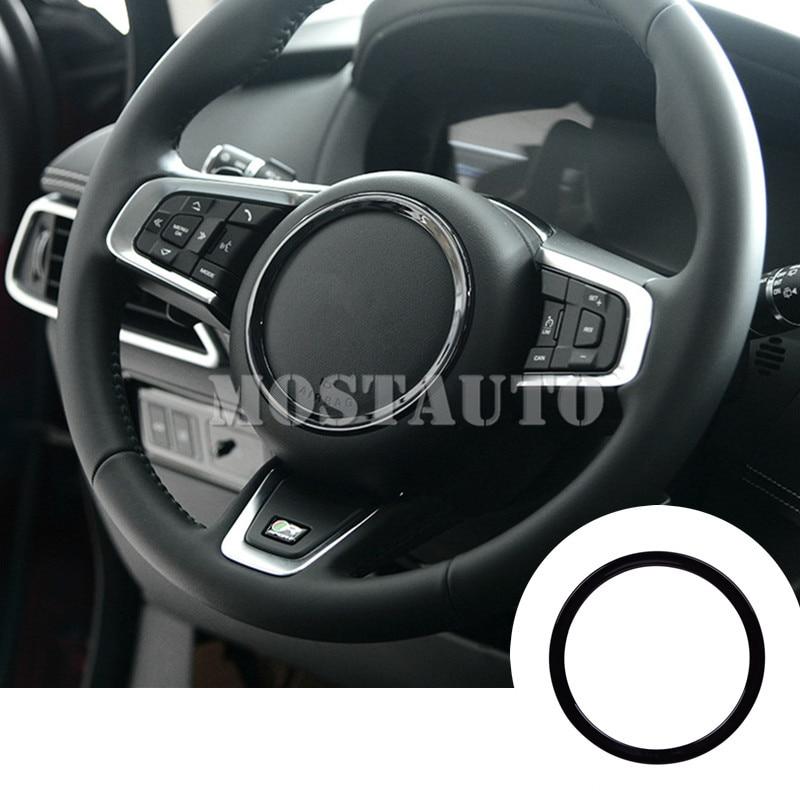Jaguar F Pace Cheap Interior: ABS Inner Steering Wheel Sequins Cover Trim For Jaguar F