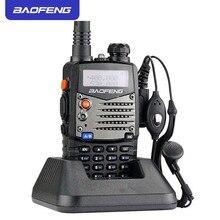 цена на Upgraded Baofeng UV-5RA Walkie Talkie Dual Band 136-174&400-520MHz Long Range Twao Way Radio Waterproof Portable Ham CB Radio