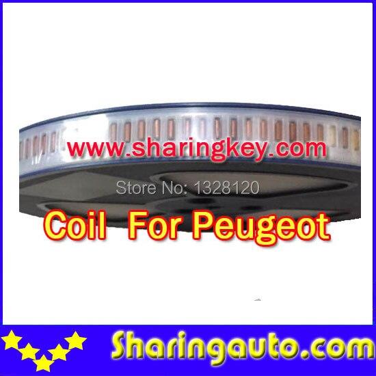 bilder für Freies verschiffen spule für Peugeot übertragungsschlüssel 10 teile/los
