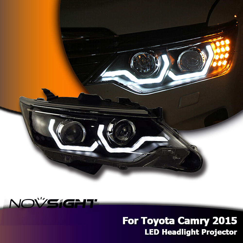 Hot Sale Novsight Auto Car Led Headlights Projector Headlamp Drl