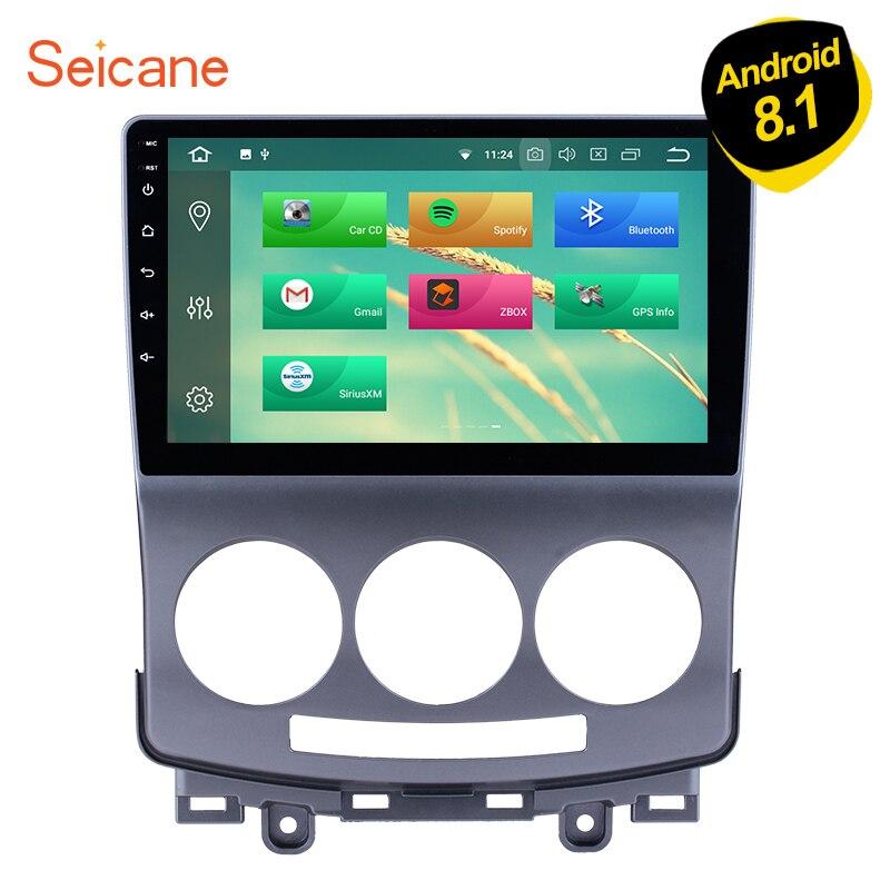 Seicane Android 8 1 9 inch Car Multimedia Player GPS Navi Radio for Mazda 5 2005