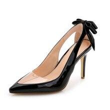 Spitz frauen Kleid Partei High Heels Stilettos Büro Dame Mode Schuhe Gold Silber Schwarz WHZQ 043