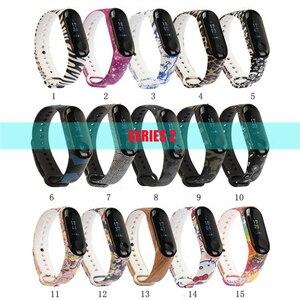Image 4 - 100 cái/gói Cho Mi Band 3 Dây Đeo Miband 4 Dây Đeo cổ tay Silicone Mi Band 4 3 Dây Đeo Tay Thay Thế Miband 3 4 vòng tay Silicone