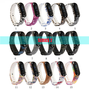 Image 4 - 100Pcs/Pack For Mi Band 3 Strap Miband 4 Wrist Strap silicone Mi Band 4 3 Wristband Replacement Miband 3 4 Bracelet Silicone