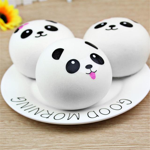 Anti-Stress spongieux Panda banane Squishe Gadget nouveauté & Gag jouets Anti-Stress Anti-Stress blagues pratiques Surprise cadeau spongieux