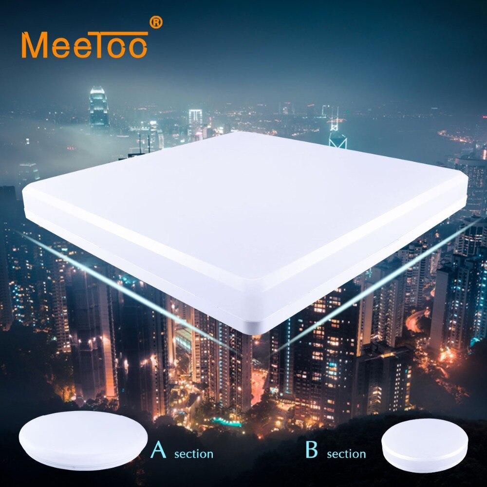 US $24.5 30% OFF|MeeToo Led Downlight Decke Led Panel Licht lampe 220 v  lampe 15 w 25 w Oberfläche montiert innen wohnzimmer schlafzimmer warm cool  ...
