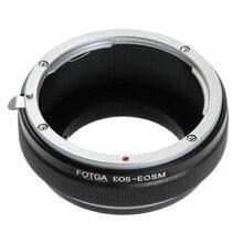 Fotga Adaptör Halkası Canon EOS EF/EF S Montaj Lens için Canon EF EOS M M2 M3 M5 M6 M50 m10 M100 Aynasız Kameralar